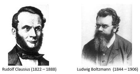clausius boltzmann