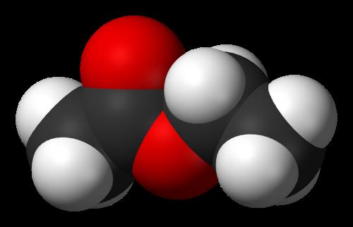 Ethyl-acetate-3D-vdW