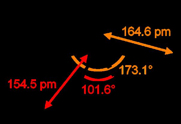 Sulfur-tetrafluoride-2D-dimensions